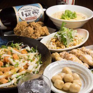 新宿の居酒屋「酉一途」で楽しく飲み会